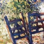 Original Mariusz Kaldowski Painting, Rendez-Vous, Contemporary Landscape Painting for Sale Online8