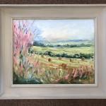 Rupert-Aker-A cotswold view-wychwood art 1