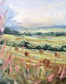 Rupert-Aker-A cotswold view-wychwood art 2