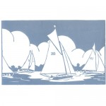 Sailing+on+the+Broads-Fiona carver-Limited Edition-Linocut print-Wychwood art 3