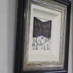 Sean Durkin, Small Original Painting, Lowryesque Contemporary Art, Story Art 6