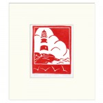 The+Lighthouse-Fiona Carver – Limited Edition Print- Linocut print – Wychwood art 2