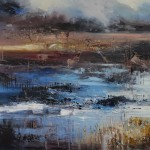 Ancient journey 4 80x80cm-Claire Wiltshire-Original Oil Painting-Unframed