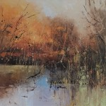 Ethereal light 4 60x60cm-Claire Wiltshire-Original Oil painting-Unframed