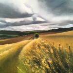 Tim Woodcock Jones | Landscape painting | yellow