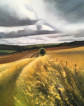 Tim Woodcock Jones | Landscape painting | yellow