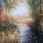 Mariusz Kaldowski forest stream affordable painting