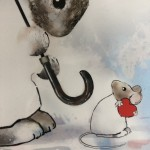 April – Harry Bunce – Animal Art – Rabbit Art – Hare Art – Wildlife Art – Illustrations – Limited Edition Print – close up