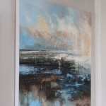 Claire Wiltsher, Magnitude III, Original Abstract Painting, Contemporary Landscape Painting 3