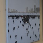 David Wheeler, Battersea Power Station, Original Oil Painting, Cityscape Art 7