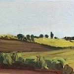 Eleanor Woolley | Autumn Landscape 2 | Impressionistic