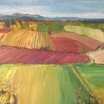 Eleanor Woolley | Fruit fields | Landscape | Expressionistic