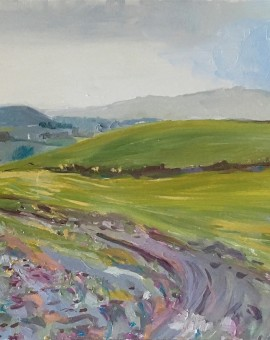 Eleanor Woolley | Towards May Hill | Expressionistic | Landscape