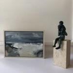 Jemma Powell, Stormy Sea, Original Painting, Seascape Art