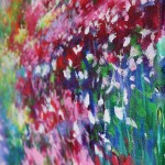 Mary Chaplin, A sunny path at Monet's garden in Giverny detail2 Wychwood Art