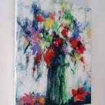 Mary Chaplin Bouquet of wild flowers (detail6) Wychwood Art