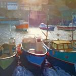Mevagissey Harbour jenny aitken