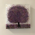 Nicky Chubb, Original Abstract Contemporary Painting, Tree Art 2