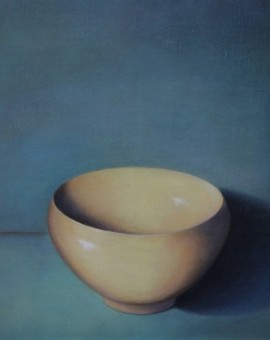 Fiona Carver Artist pouring bowl 1