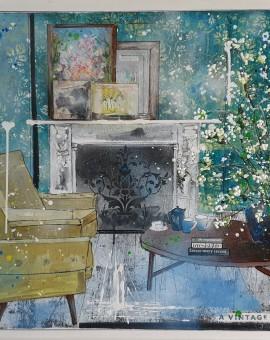 a vintage vibe julia adams wychwood art