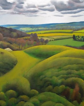 Tim Woodcock Jones | Chilterns Near Tring | Surry Hills Painting