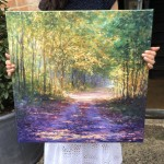 mariusz-kaldowski-enchanted-forest-original-art-acrylic-painting-canvas
