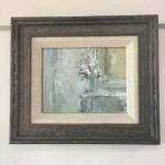 flowers on my mantlepiece, jemma powell, framed