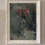 Jemma-powell-pink-roses-still-life-oil-board-original-art-work-framed