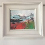 heading for the mountains, jemma powell, framed