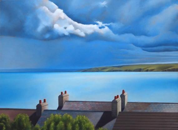 Tim Wodcock Jones | New Quey | Seascape Painting