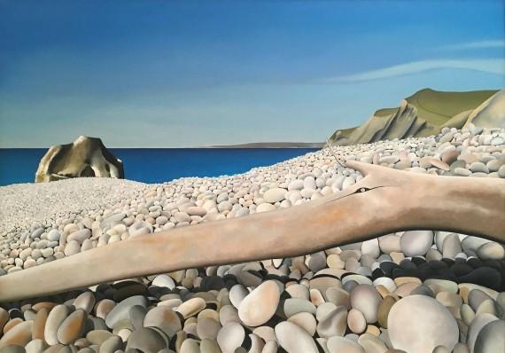 Tim Woodcock Jones | Beach Painting