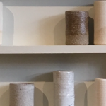 raku art | red stoneware art | white stoneware installation art