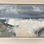stormy sea, jemma powell, framed