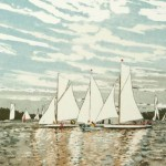 Jan Dingle | Theyre off | Boat Art