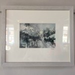 through the mountians, jemma powell, framed