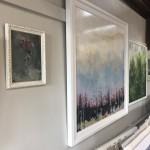 Jemma-powell-pink-roses-still-life-oil-board-original-art-work-framed-in-situ