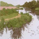 Jan Dingle | Winding River | English Countryside