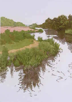 Jan Dingle | Winding River | English Countryside