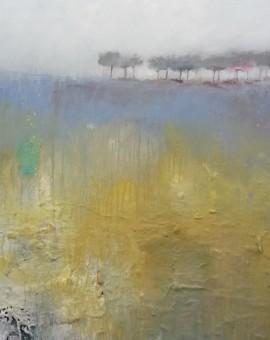 Lavender Treetops  60 x 60 cm £695.00