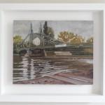 Lesley Dabson   Hamersmith Bridge, Soft Light    F Wychwood Art