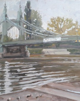 hammersmith bridge original art for sale
