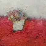 Scarlet Blossom 26 x 26 cm £295.00
