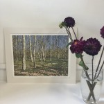 Grasmere Birches | Alexandra Buckle | Limited Edition Linocut Print