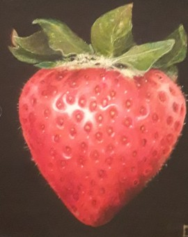 Dani Humberstone strawberry painting for sale online