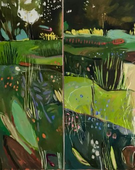 Elaine Kazimierczuk Merton Borders at the OBG Wychwood Art