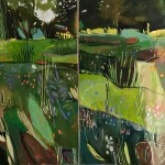 Elaine Kazimierczuk Merton Borders at the OBG Wychwood Art