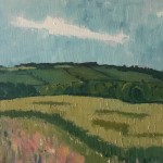 Eleanor Woolley | Field of wheat | Impressionistic | Landscape