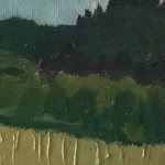 Eleanor Woolley | Field of wheat | Impressionistic | Landscape | Section 3
