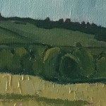 Eleanor Woolley | Field of wheat | Impressionistic | Landscape | Section 4