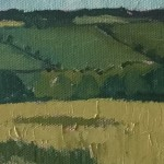 Eleanor Woolley | Field of wheat | Impressionistic | Landscape | Section1